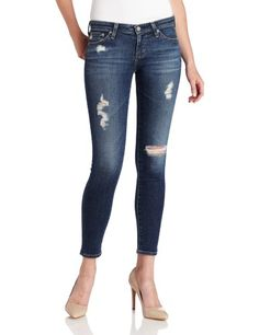 Lisas Fine Lingerie: Leggings: AG Adriano Goldschmied Womens Legging Ankle Jean