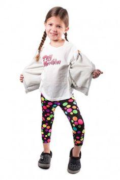 RAINBOW POLKA DOT LEGGINGS Avalable at tinyterribles.com