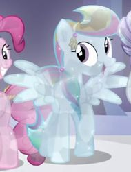 Rainbow Dash Crystal Pony ID S3E02