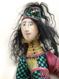 textile art: Doll Gallery