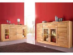 Obývací stěna buk | Masiv-Prodej.cz Industrial Interior Design, Komodo, Entryway, Cabinet, Storage, Furniture, Home Decor, Ideas, Entrance