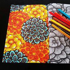 Het tweede enige echte kleurboek voor volwassenen: bloemen