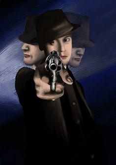 Philip Lombard (Agatha Christie: And Then There Were None), illustration - Annamária Urbán