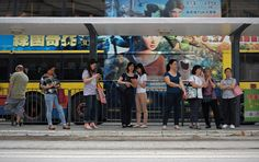 tram stop drama...