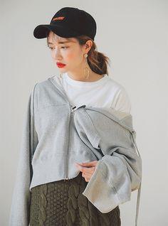 トップス パーカー・スウェット | レディース・ガールズファッション通販サイト - STYLENANDA