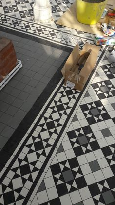 Armatile manufactured the beautiful new Geometric floor inspired by Victorian design for the historically sensitive restoration on the Grade II Listed Conservatory at The Horniman Museum, London (#ManufacturedByArmatile)