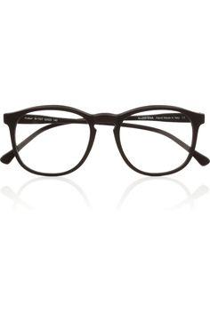 4885f95ffe32 Illesteva - Hudson Optical round-frame matte-acetate glasses