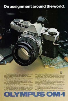 In the first set of vintage camera ads, we showed you a hodgepodge of analogue goodies featured in magazines, posters, and other print materials. Now, we're putting Single Lens Reflex cameras on the spotlight in this next set of vintage camera ads!