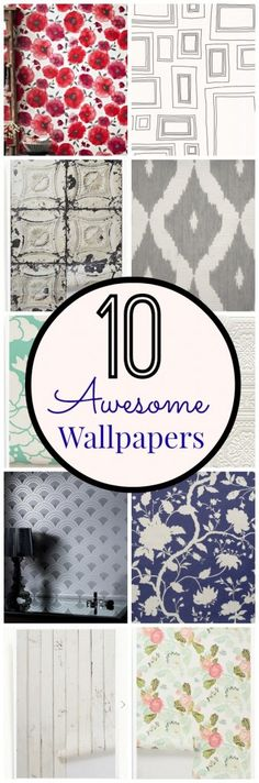 10 awesome wallpapers - these are all gorgeous!