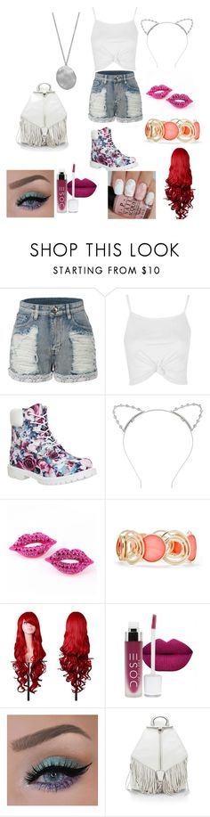 Spring 4 by infinityisangel on Polyvore featuring Topshop, LE3NO, Timberland, Rebecca Minkoff, Karen Kane, New Directions and Lipsy