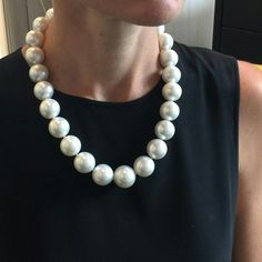 #RepostSave @margotmckinney with @repostsaveapp  · · ·  South sea pearl perfection! When only the best will do. Measuring 18 - 21mm this extraordinary collection of perfectly round, highly lustrous Australian pearls is a dream. Ten harvests were needed to perfect this strand and it is destined to be a family treasure and heirloom. #margotmckinneypearls #margotmckinneylustre @emporiumbne #southseapearls #australianpearls