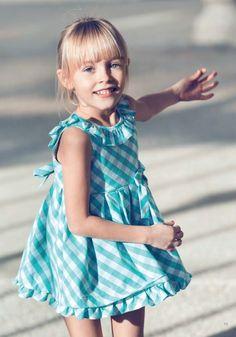 Aletta moda para niña SS14, vestidos para el verano http://www.minimoda.es