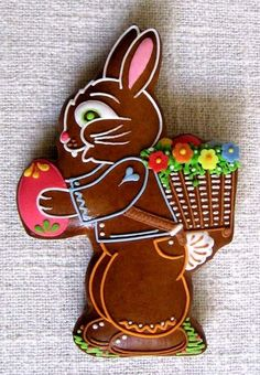v116.jpg 554×800 pixels, gingerbread Easter bunny
