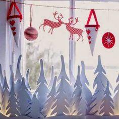 45 Χριστουγεννιάτικες ιδέες για να διακόμσησετε τα παράθυρα!