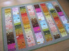 scrappy quilt