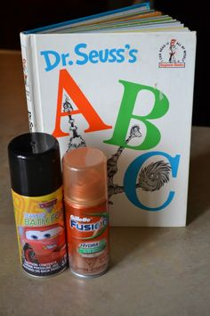 Mamas Like Me: Messy Dr. Seuss ABC Fun