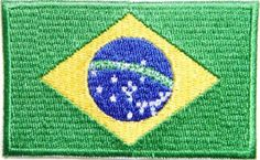 Brazilian Flag Patch 3472