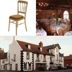 This #Furniture #Friday we delivered our Natural Cheltenham Chairs to the Lion Pub. These versatile chairs look great with all colour schemes and themes!  www.alfrescohire.co.uk 01279 870997  #events #wedding #TGIF #weekend #Christmas #chairs