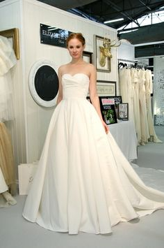 Elizabeth Stuart #wedding gown - Fall 2014