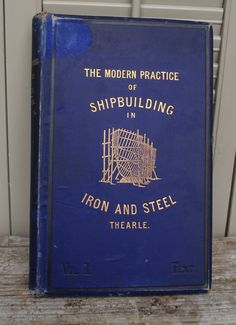 Antique Book 'The Modern Practice of by BeachLaneVintage on Etsy, $50.00