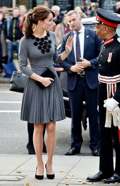 During today's engagement, the Duchess aims to gain an overview of the charity's work by m...