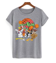 Looney Tunes Space Jam Tshirt This t-shirt is Made To Order, one by one printed so we can control the quality. Looney Tunes Space Jam, Kids Outfits, Cute Outfits, Fall Fashion Outfits, Spring Outfits, Diy Shirt, Boho, Direct To Garment Printer, Cool Shirts