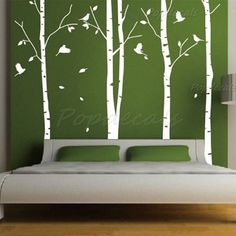 Mountains Wall Decal Mountains Landscape Wall Sticker Mountains - Instructions on how to put up a wall sticker