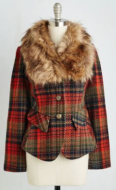 perfectly plaid fall jacket