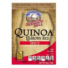 Hodgson Mill Spicy Quinoa & Brown Rice  - a whole grain side, certified Gluten Free, and ready in 20 minutes. #quinoabrownrice #glutenfree **This is an Indianapolis GFFAFest vendor!