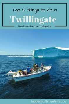 Twillingate is a town located off the northeastern shore of Newfoundland. Here are our favourite 5 things to do in Twillingate. Newfoundland Icebergs, Newfoundland Canada, Newfoundland And Labrador, Travel With Kids, Family Travel, Best Family Vacation Destinations, Vacations, Travel Destinations, Atlantic Canada