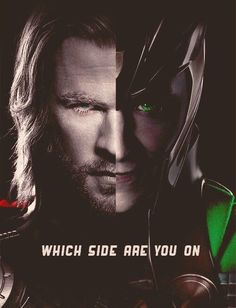 Which side are you on? Thor's of course! But I do still love Loki
