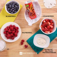 Get going on your greatest adventure with this smoothie recipe of berries…