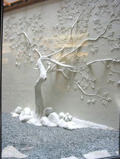 ideas for plaster tree sculpture artist portfolio Art Mural 3d, 3d Wall Art, Wall Murals, Art 3d, Plaster Art, Plaster Walls, Wall Sculptures, Sculpture Art, Artist Portfolio