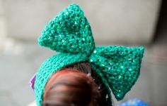 MACADEMIAN GIRL: Epicentre of COLORS. Bow headband by Nudakillers