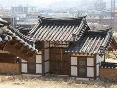 영주 삼판서고택 솟을대문(안쪽에서 봄)