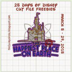 25 Days of Disney Cut File Freebies! Day 16