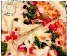 Recipe 3C's Pizza Base - Cauliflower, Chickpea & Chia - Recipe of category Main dishes - others