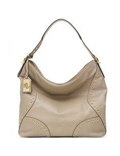 4a03e1aa26b2 Lauren Ralph Lauren Morley Grommet Small Hobo. Clearance HandbagsHobo ...