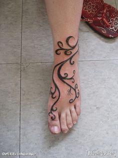 vine ankle tattoo designs - Google Search