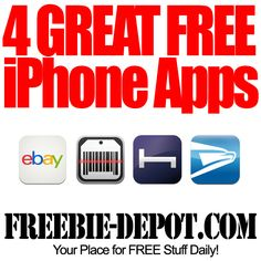 4 Great FREE iPhone Apps