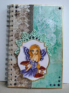 Fairy Journal by Stamp out loud - Cards and Paper Crafts at Splitcoaststampers
