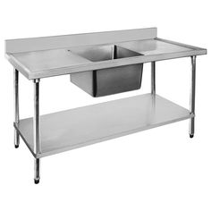 91 best Commercial Stainless Steel Sink Bench images on Pinterest ...