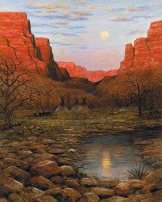 Desert Moon: Jon McNaughton