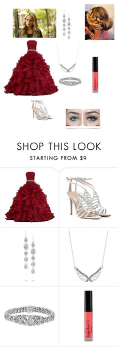 """""""Rebekah Mikaelson"""" by natalia-alve-niel ❤ liked on Polyvore featuring Gianvito Rossi, Kenneth Jay Lane, Accessorize and Lagos"""