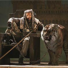 Do you like King Ezekiel and Shiva? #TheWalkingDead #WalkingDead #TWD