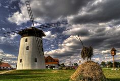Windmill in Bukovany (South Moravia), Czechia Prague, European Countries, Beautiful Places In The World, Central Europe, Le Moulin, Czech Republic, Castle, Windmills, Vacation