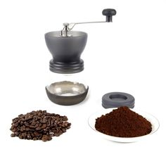 Black Manual Coffee Grinder ** Read more  at the image link.