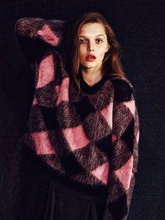 Romancing Harlequins | knitGrandeur