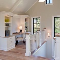 Cte office niche for upstairs attic space · Cottage DecoratingDecorating IdeasAttic ... & Open concept condo | My Beach Cottage Decorating Ideas | Pinterest ...