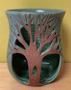 Tree Carving, Sponge Holder, The Potter's Wheel, Pottery Making, Rainbow Unicorn, Stoneware Clay, Clay Projects, Color Card, Pillar Candles